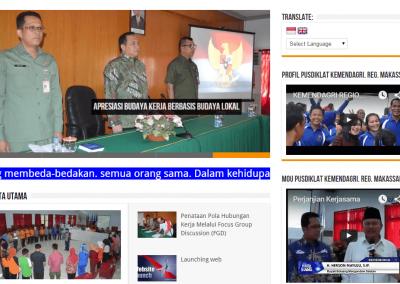 Pusat Pendidikan & Pelatihan Kemendagri Regional Makassar