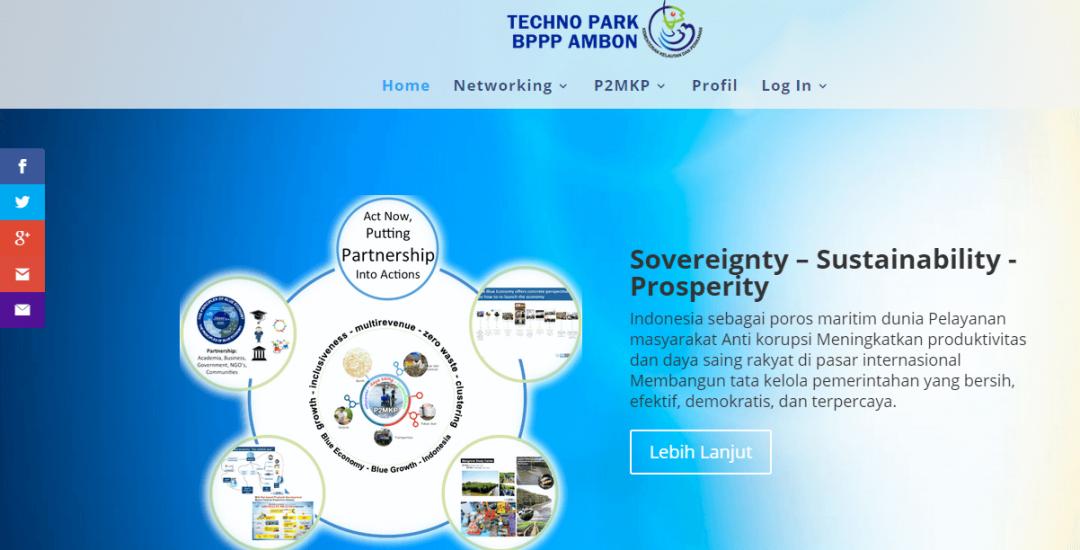 Techno Park BP3 Ambon Kementerian Kelautan & Perikanan