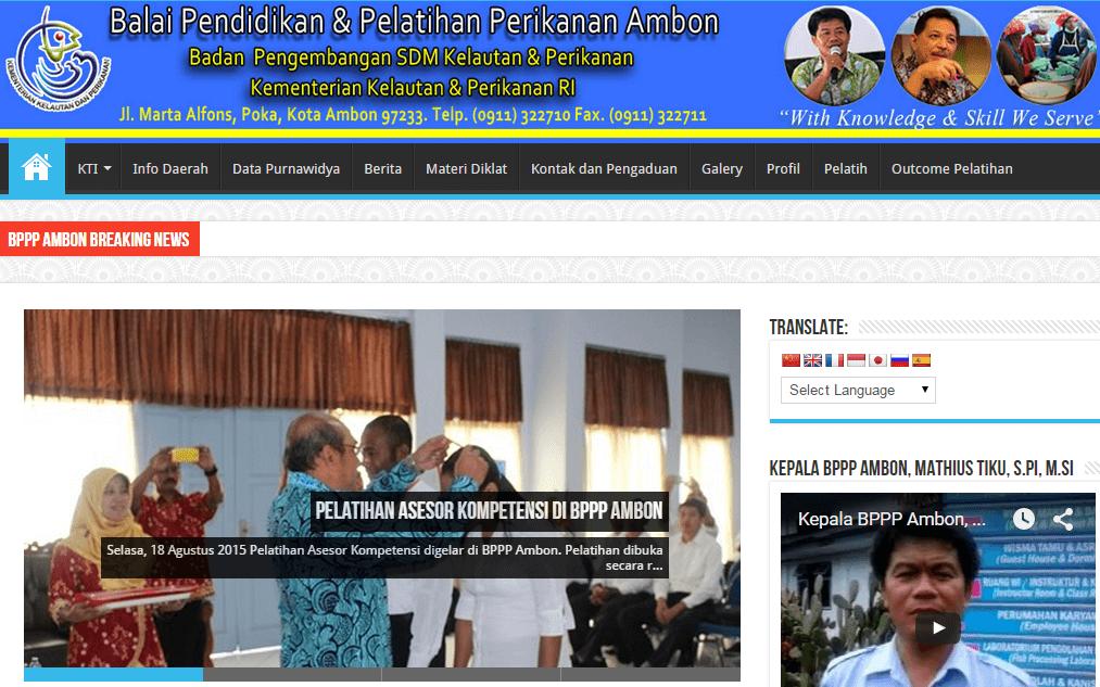 BPPP Ambon Kementerian Kelautan dan Perikanan RI