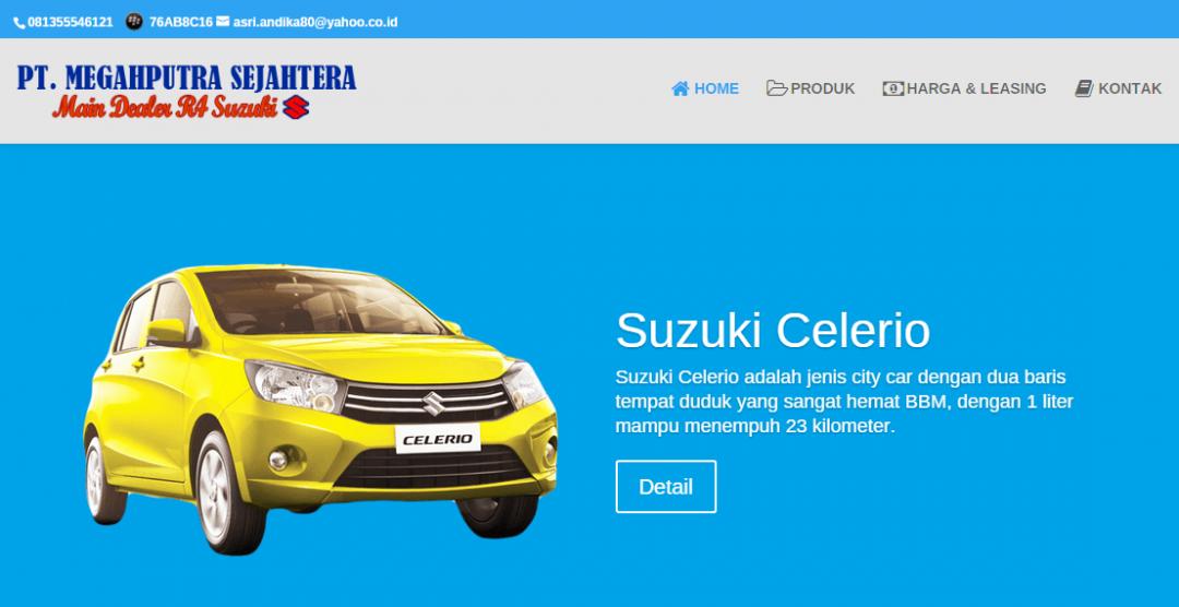 PT. Megah Putra Sejahtera – Dealer Resmi R4 Mobil Suzuki