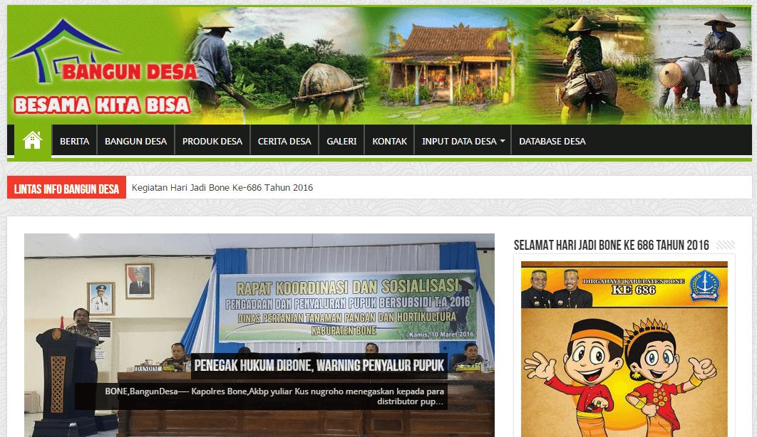 Pemerintah Desa Kabupaten Bone