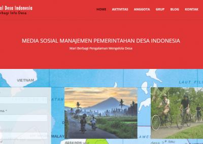 Media Sosial Berbagi Kegiatan Desa Indonesia