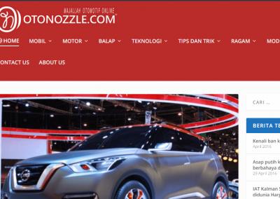Portal Berita Otomotif OTONOZZLE