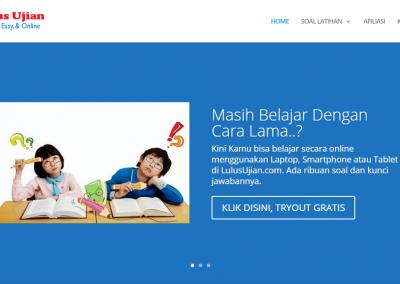 Online Learning LulusUjian.com – Latihan Ujian Online CPNS, IPDN, SNMPTN, TOEFL