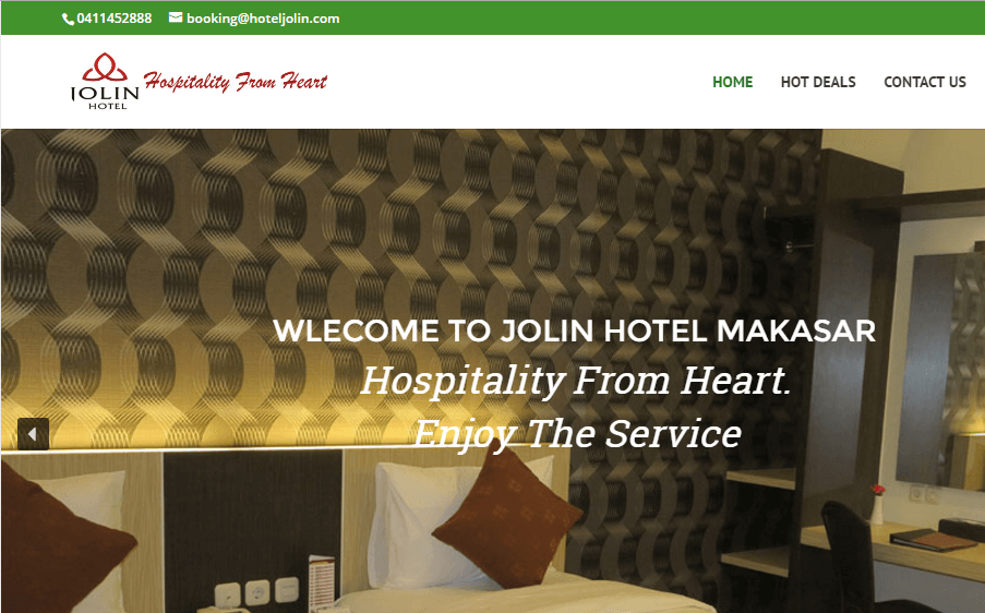 Jolin Hotel Makassar – Website Booking Online