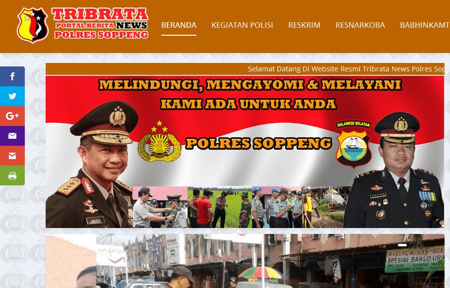 Polres Soppeng – Portal Berita Resmi TribrataNews Polres Soppeng
