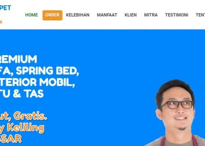 Laundry Premium – Website Profil & Order Laundry