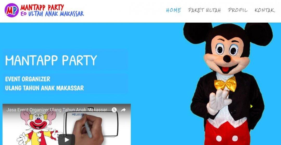 Mantapp Party – Event Organizer Ultah Anak
