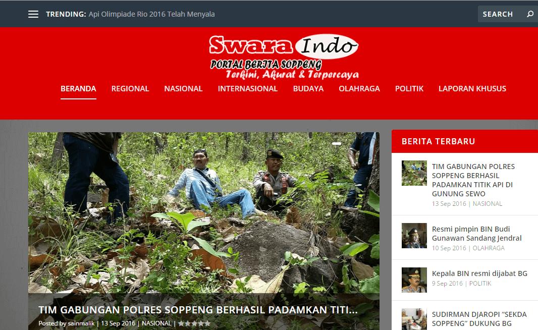 Swara Indo Soppeng – Portal Berita Kab. Soppeng