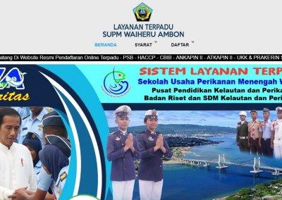 SUPM Waiheru KKP – Aplikasi Layanan Terpadu Online
