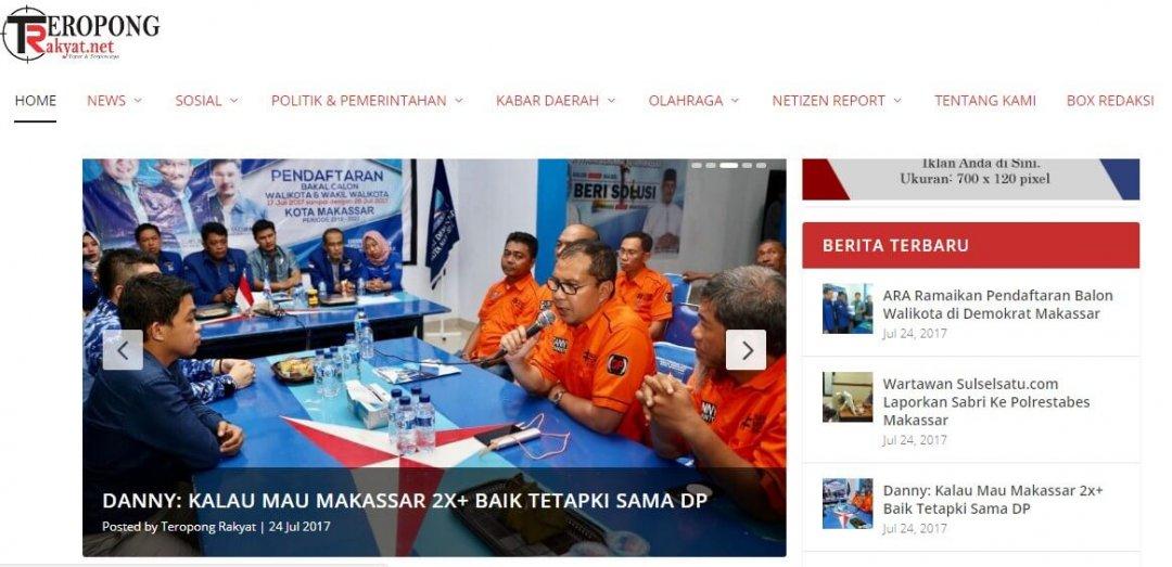 Teropong Rakyat – Portal Berita Online Makassar