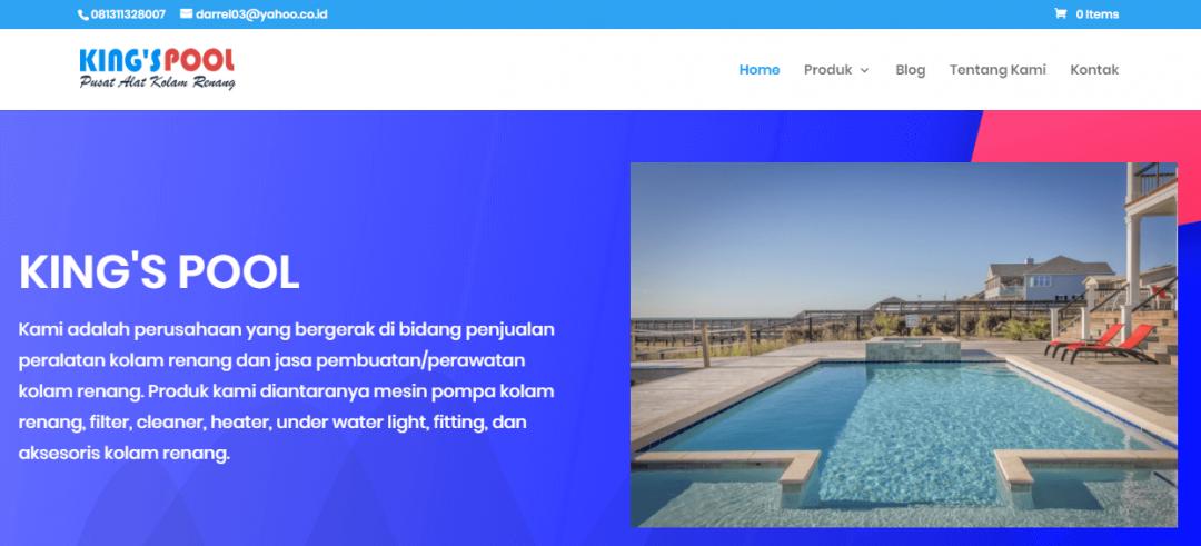 CV. King's Pool – Toko Online Alat Kolam Renang Makassar