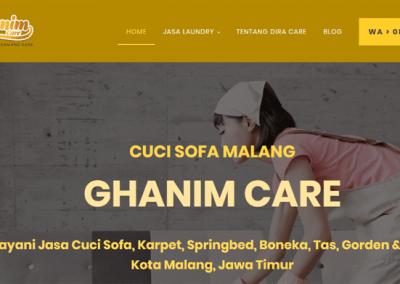 Ganim Care – Cuci Sofa, Karpet & Springbed Kota Malang