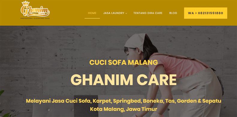 Cuci Sofa Malang, Karpet dan Springbed Malang - Ghanim Care
