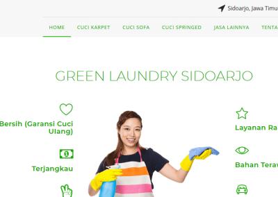 Cuci Sofa, Karpet & Springbed Green Laundry Sidoarjo, Jawa Timur
