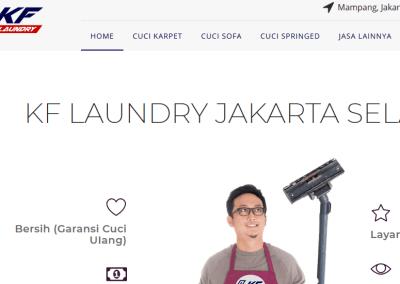 Cuci Karpet, Sofa & Springbed KF Laundry Jakarta Selatan