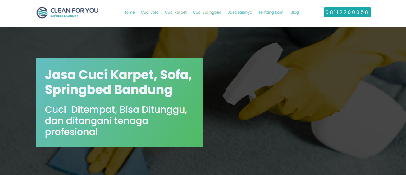 Clean For You Laundry Bandung